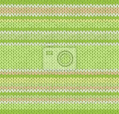 Sticker Style Seamless Orange Vert Jaune Blanc Couleur Light Vector Knit