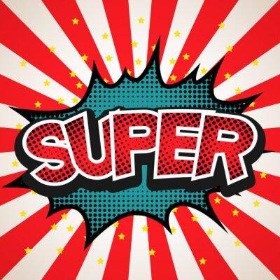 Sticker Super bulle fond