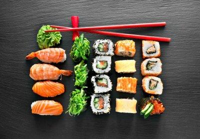 Sticker Sushi, ensemble, baguettes
