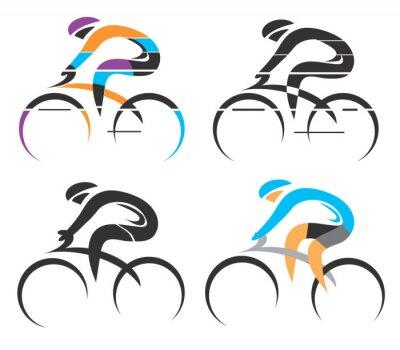 Sticker symboles de Cyclisme