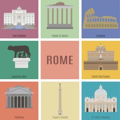 Sticker Symboles de Rome