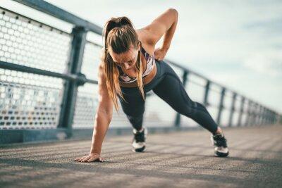 Sticker Tant d'avantages de l'exercice en plein air