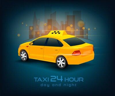 Sticker taxi
