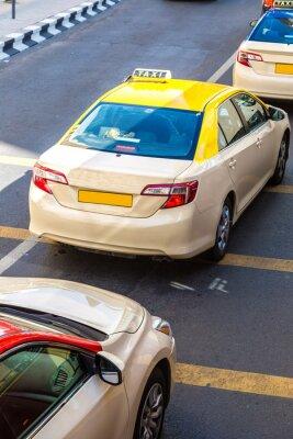 Sticker Taxi à Dubaï