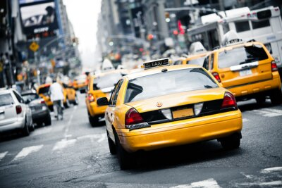 Sticker Taxi de New York