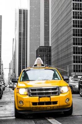 Sticker taxi jaune de New York