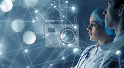 Sticker Technologies innovantes en science et en médecine
