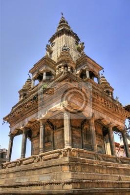 Temple à Bhaktapur (Népal)