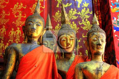 Temple à Luang Prabang, Laos / Laos