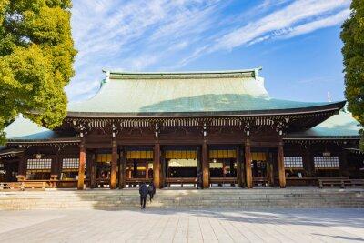 Sticker Temple Meiji Jingu-à Tokyo, Japon