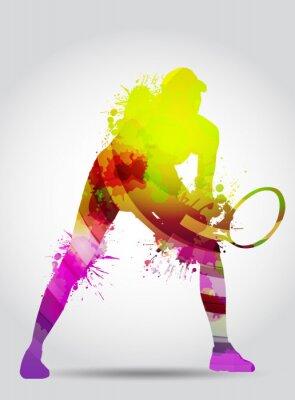 Sticker Tennis, Competizione, Torneo