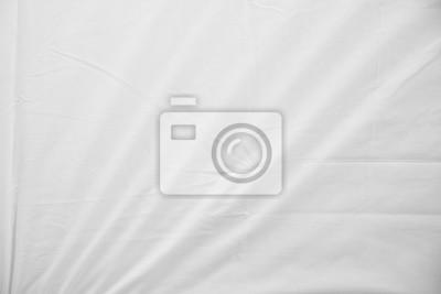 Sticker Texture blanche de tissu froissé