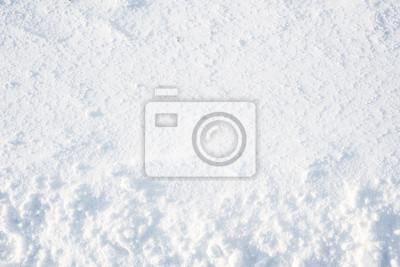 Sticker Texture d'hiver, fond de neige