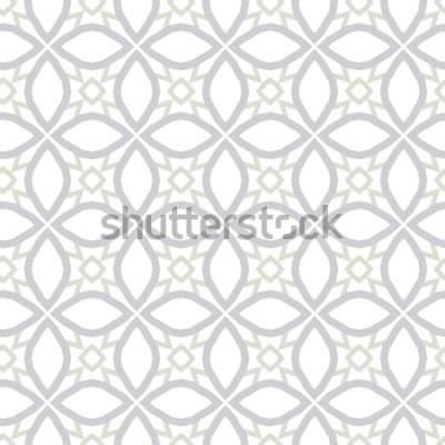 Sticker Texture de fond abstrait dans un style ornemental géométrique. Conception sans couture.