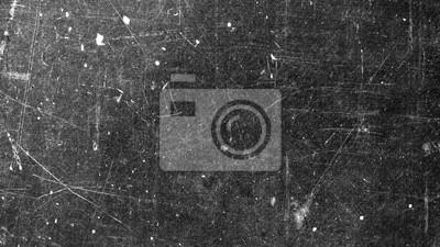Sticker Texture de la vieille surface sur fond noir avec des rayures blanches