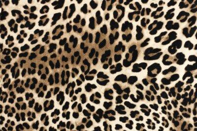 Sticker Texture fablique léopard. Fond textile de mode.