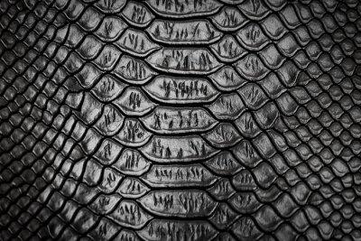 Sticker Texture motif peau de serpent noir