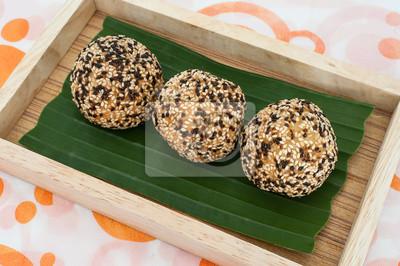 Thaïlande Dessert, sésame Balls
