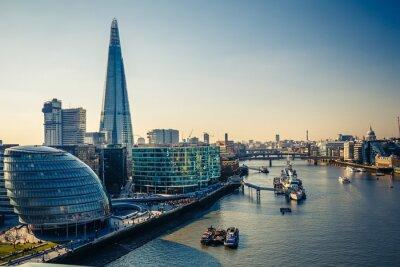 Sticker Thames et London City