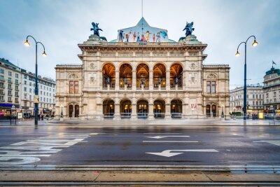 Sticker The Vienna State Opera in Austria.