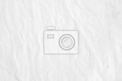 Sticker Tissu en toile de coton blanc rincé fond texturé, fond d'écran