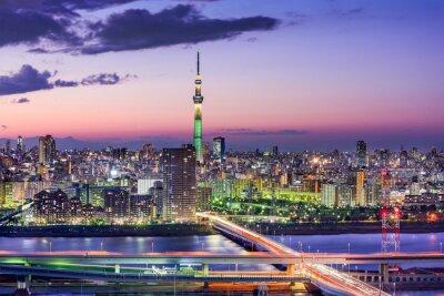Sticker Tokyo, Japon Horizon