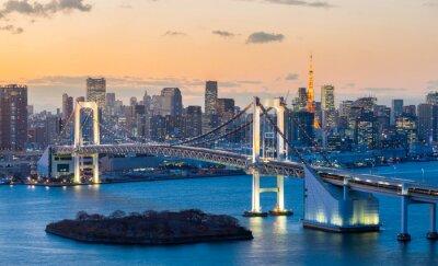 Sticker Tokyo Tower Rainbow Bridge