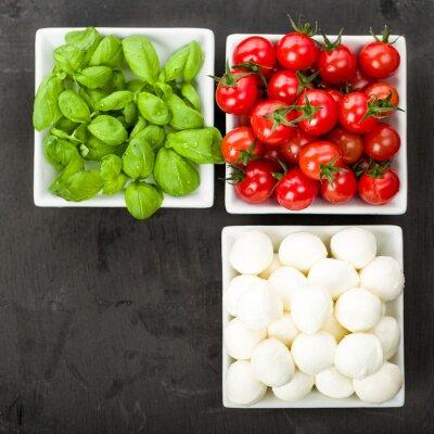 Sticker Tomate Mozzarella Basil
