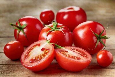 Sticker Tomates rouges fraîches