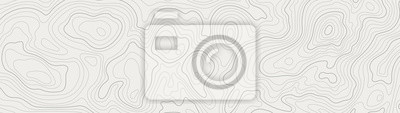 Sticker topographic line contour map background, geographic grid map