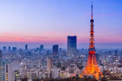 Sticker Tour de Tokyo, Tokyo, Japon