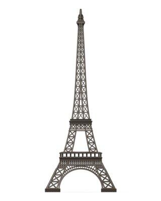 Sticker Tour Eiffel isolé