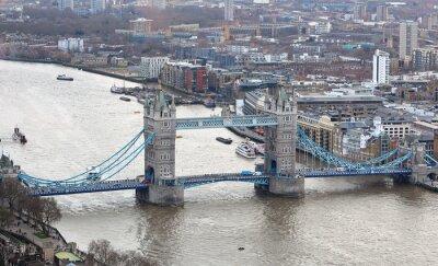 Sticker Tower Bridge sur la Tamise à Londres