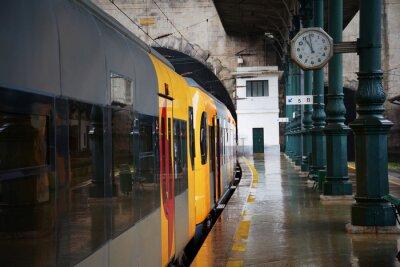 Sticker Train à la gare