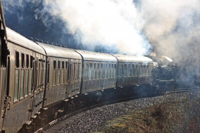 Sticker Train à vapeur