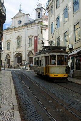 Sticker Tram - Lisbona