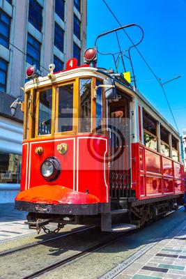 Tram rétro à Istanbul,