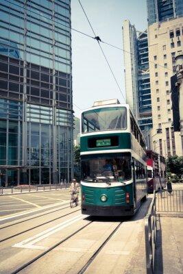 Sticker Tramway à Hong Kong