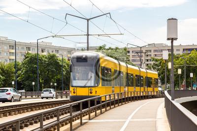 Tramway moderne à Dresde
