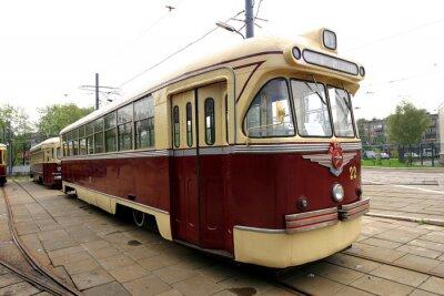 Sticker Tramway vintage
