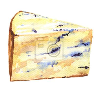 Tranche de fromage moisi français