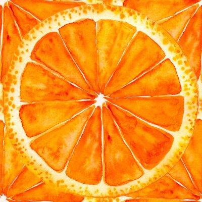 Sticker Tranches d'orange ou de pamplemousse