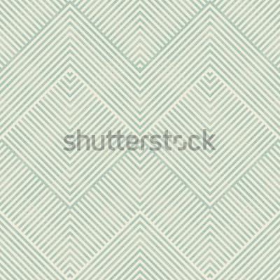 Sticker Transparente motif géométrique abstrait en turquoise et beige sur fond de texture. Le motif sans fin peut être utilisé pour les carreaux de céramique, le papier peint, le linoléum, le textile, le fond