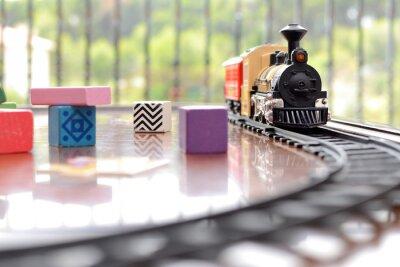 Sticker Tren juguete