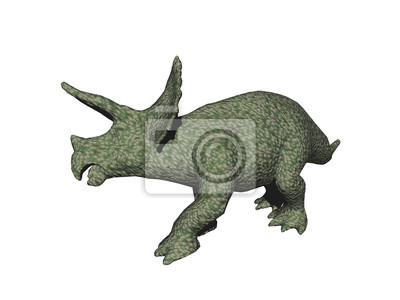 Sticker Triceratops Dinosaurier