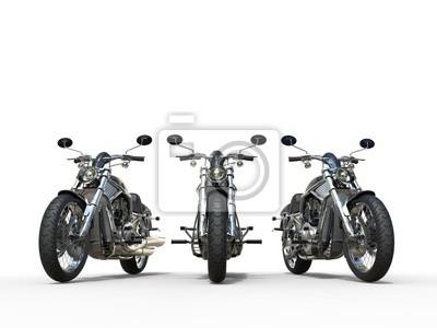 Sticker Trois superbes motos vintage