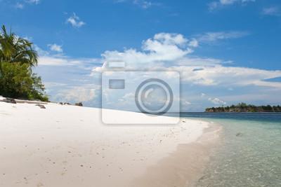 Turquoise Tropical Paradise Beach polynésien eau cristalline