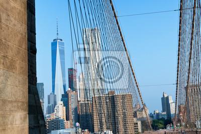 Un World Trade Center et Skyline du pont
