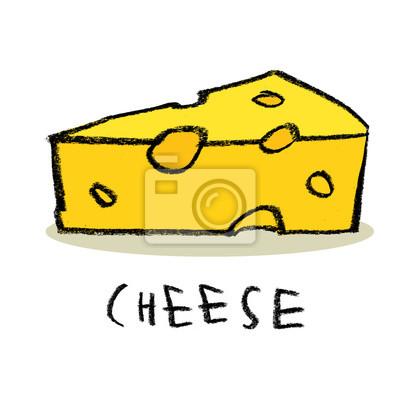 Une tranche de fromage