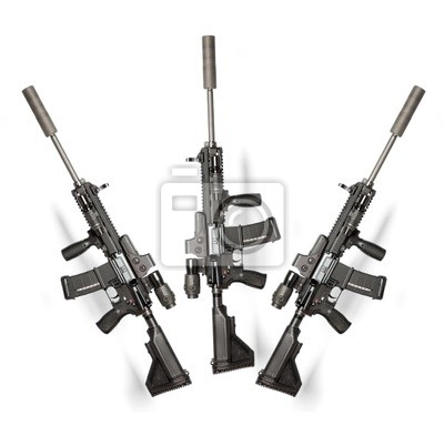 US Army M4 fusil
